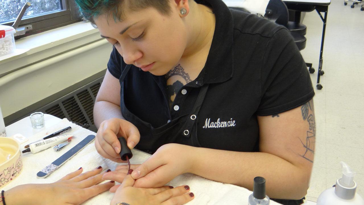 cosmetology nail tech