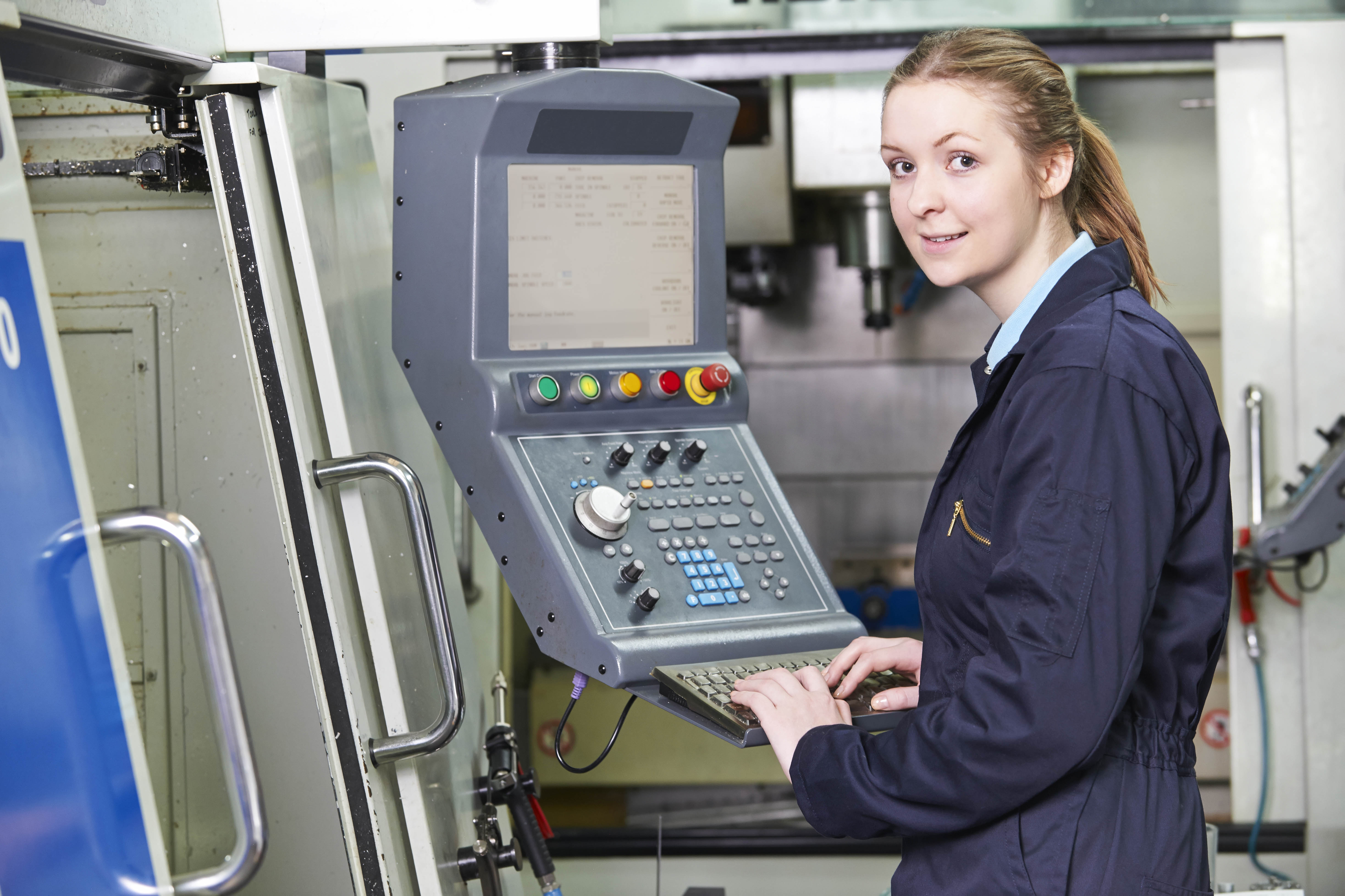 Women have always worked in the manufacturing industry!