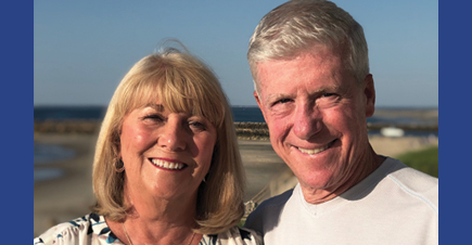 photo of the bertolons with a beach background